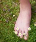pieds et fleurs